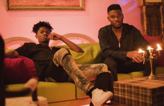 Nonso Amadi and Kwesi Arthur in Comfortable