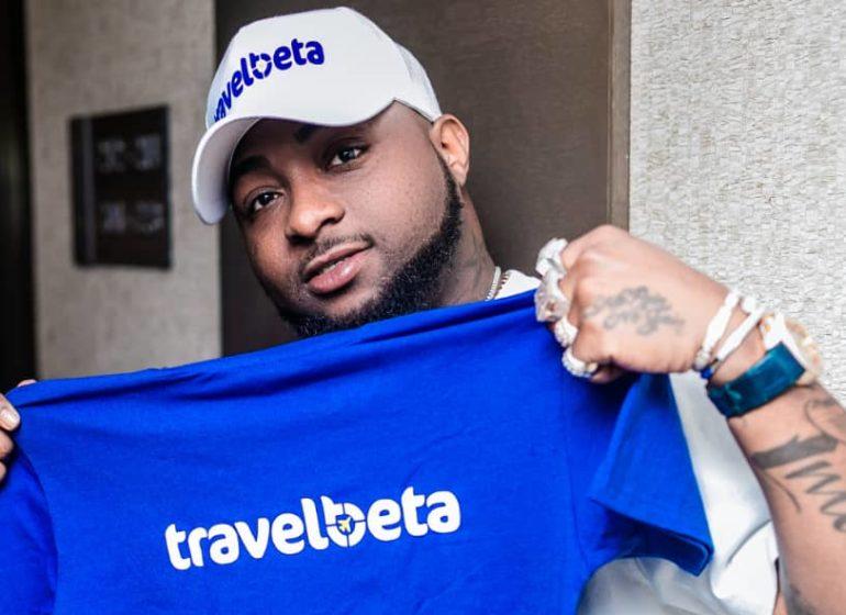 Davido becomes travelbeta ambassador