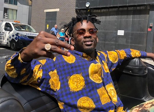 'Henceforth, its £50k and above' -- Mr Eazi announces collaboration fees