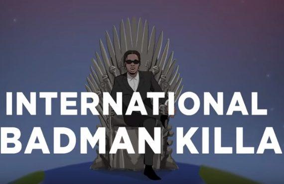 WATCH: Runtown plays 'GoT' king in 'International Badman Killer' visuals