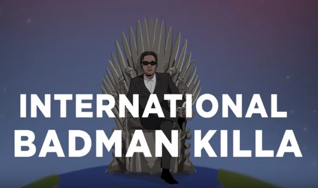 WATCH: Runtown plays 'GoT' king in 'International Badman Killer' visuals