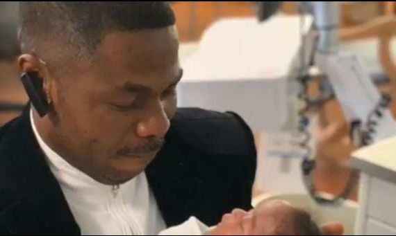 Yinka Ayefele shares video of his triplets — nearly six…