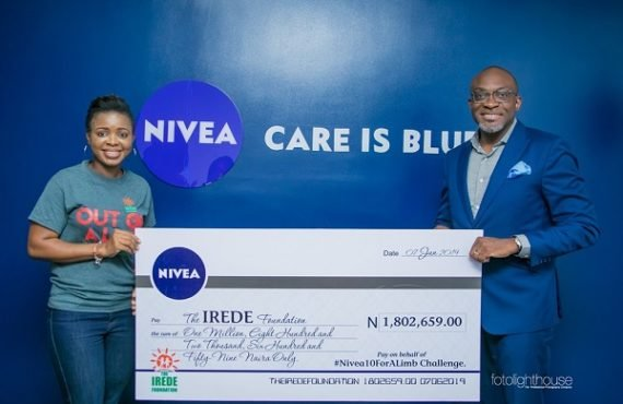Nivea, TIF seek support for child amputees' education