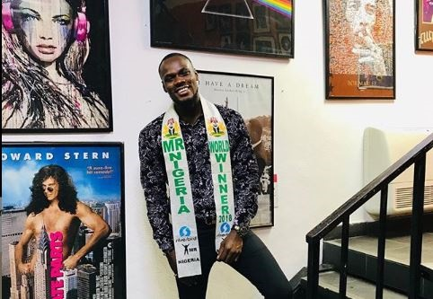 'I can't do it alone' – Mr Nigeria calls for support to win world pageant
