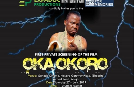 WATCH: 'Oka Okoro', Nollywood movie on Igbo folklore, to premiere…