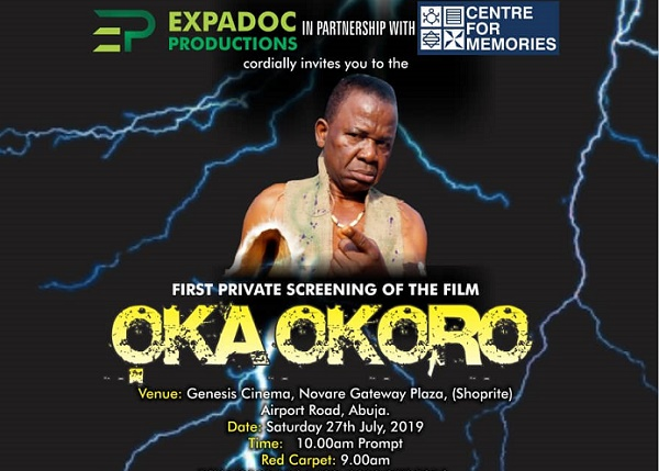 WATCH: 'Oka Okoro', Nollywood movie on Igbo folklore, premiers in Abuja