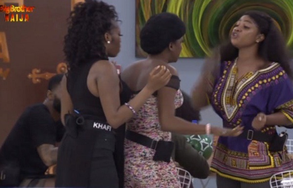BBNaija 2019: Thelma, Tacha get into first fight over fish