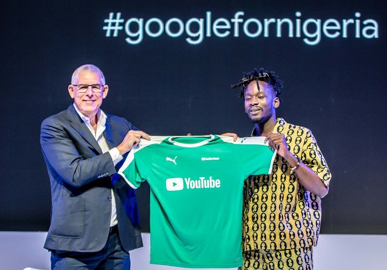 Mr Eazi and Youtube support Nigerian artistes