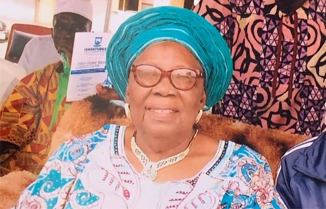 Akinyele Oladeji, Nigerian tax consultant, announces mother's death