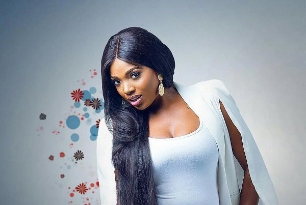 Annie Idibia gets Tuface, fans talking after rocking bikini in Malta pool
