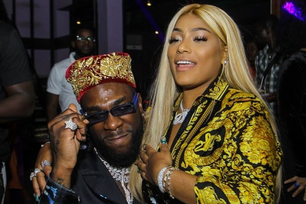 'We're good over here' - Stefflon Don denies breakup with Burna Boy