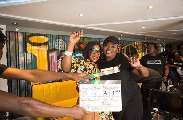 Funke Akindele makes directorial debut in Mo Abudu's 'Your Excellency'