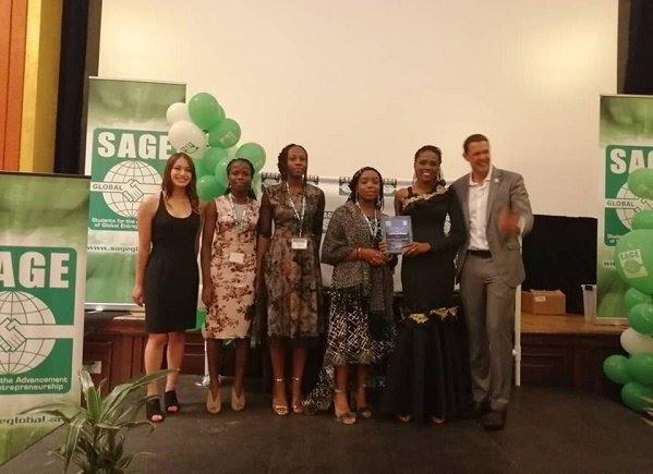 Nigerian students win gold medal at SAGE competition in US