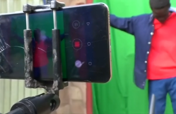 Meet the Nigerian students who shoot sci-fi movies with smartphones