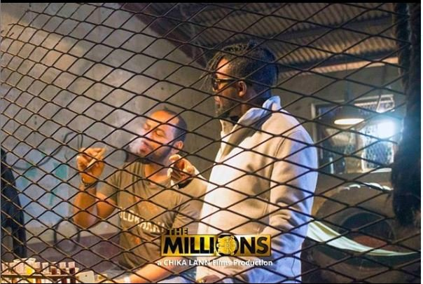 WATCH: Ramsey Nouah, AY play crime partners in 'The Millions'