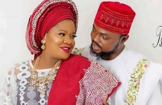 Toyin Abraham, husband welcome baby boy