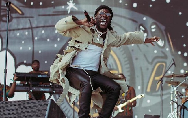 Burna Boy's 'African Giant' sets new record on UK albums chart