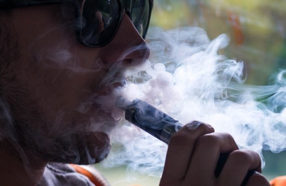 Study: Vaping linked to higher risk of COVID-19 in young…