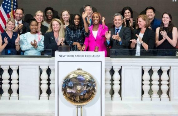DJ Cuppy rings opening bell at New York Stock Exchange