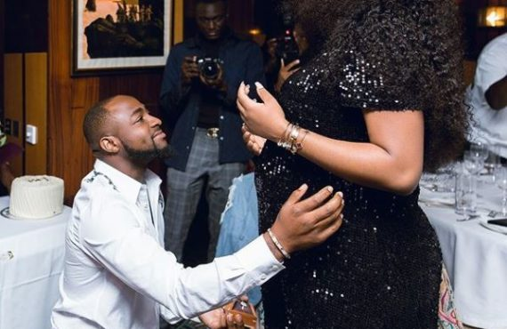 'I dey delivery room' — Chioma, Davido set to welcome…