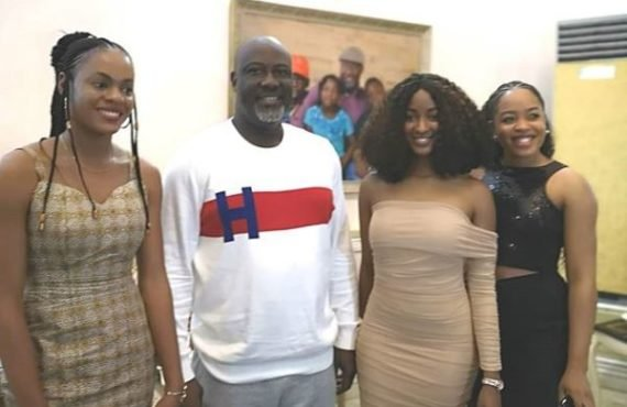 Dino Melaye hosts seven BBNaija-evicted housemates in Abuja