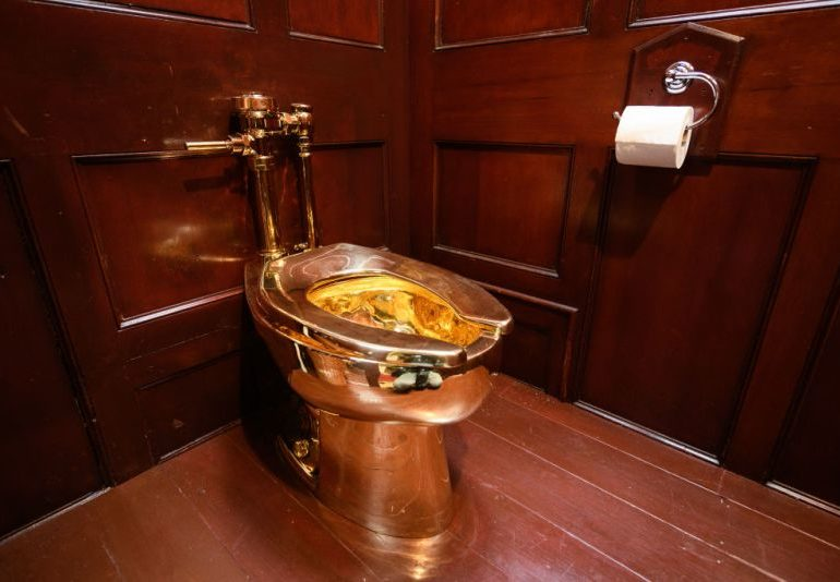 PHOTOS: Toilet worth 'N1.8bn' stolen from British palace