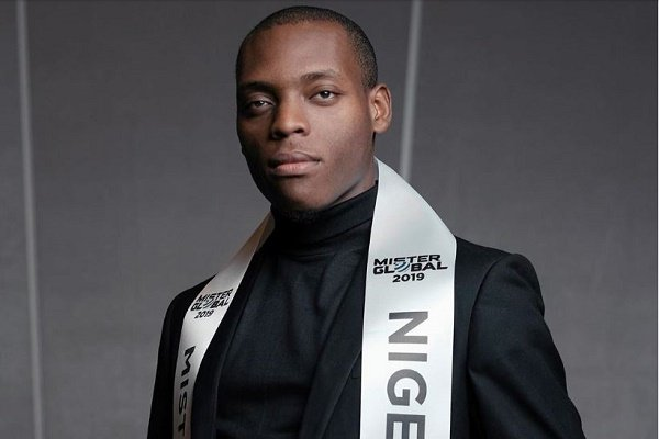 Meet Triumph Moses, man reprensenting Nigeria at Mister Global 2019 finals