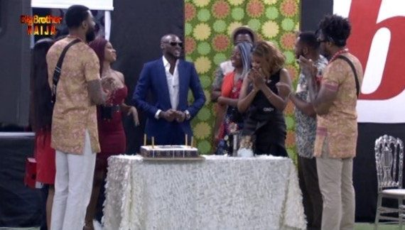 Tuface celebrates 44th birthday with BBNaija housemates