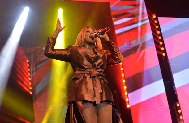 Adekunle Gold, Johnny Drille, MI thrill fans at Waje's 'Red Velvet' concert