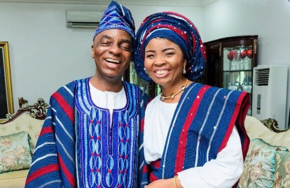 'I love you with passion' — Faith Oyedepo celebrates husband…