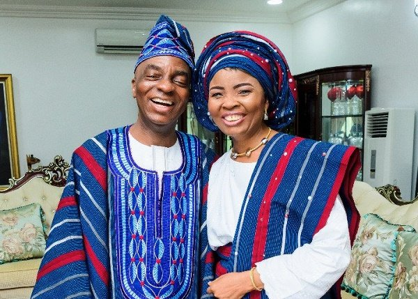 Faith Oyedepo celebrates husband on his 65th birthday