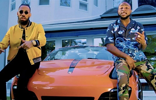 WATCH: Davido adopts Igbo language in Phyno's 'Ride For You'