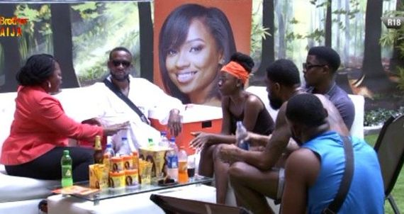 Funke Akindele invites Diane to 'Jenifa's Diary' during BBNaija visit