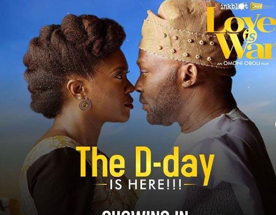 'Love is War' premieres in cinemas -- starring Omoni Oboli, RMD