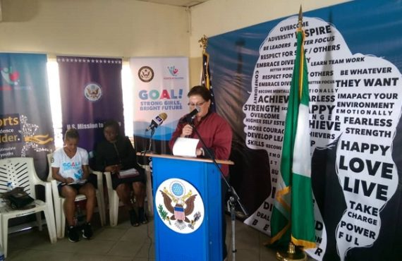 US launches female football programme to tackle sex trafficking in Nigeria