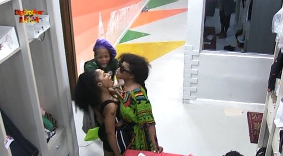 BBNaija Day 89: Mercy, Tacha fight dirty over body odour claims