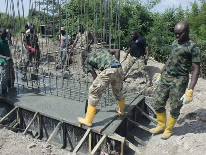 Army reconstructs collapsed ATBU bridge – after death of four