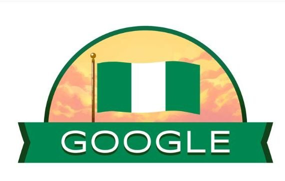 Google celebrates 'Nigeria at 59' with a doodle