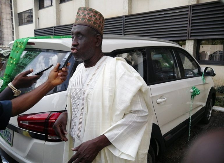 How visually impaired prof won N8.8m IVM SUV