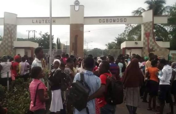 NASU: Why we shut down LAUTECH gates