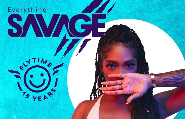 Tiwa Savage at the Flytime Music Festival 2019