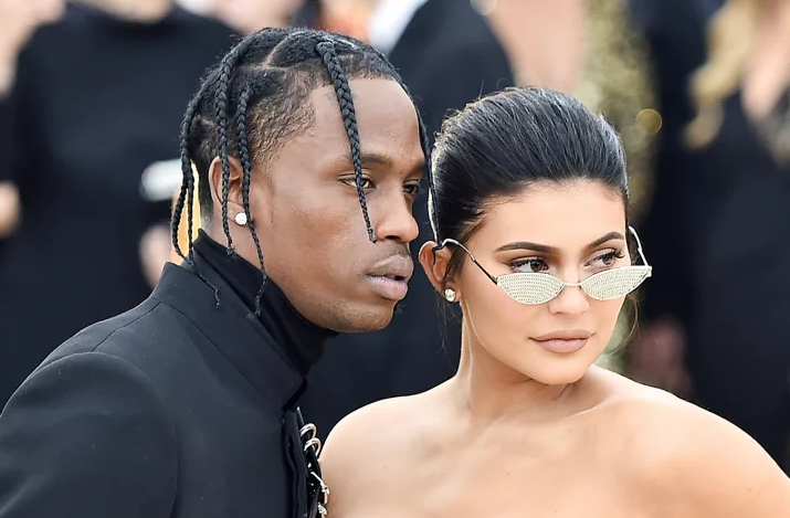 Traviss Scott and Kylie Jenner