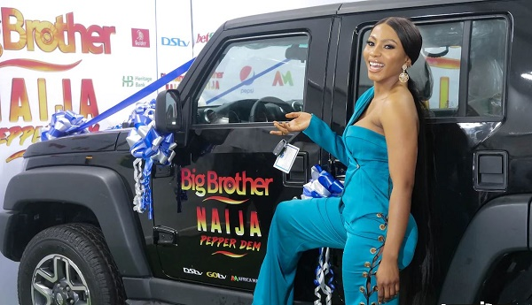 Mercy, BBNaija winner, receives N30m, SUV from Innoson