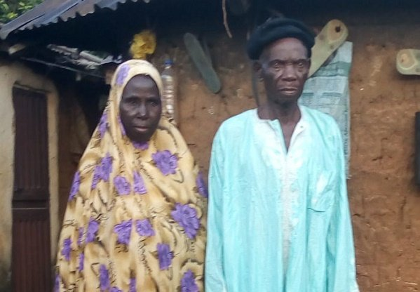 96-year-old man weds heartthrob, 73, in Abuja
