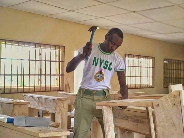 INTERVIEW: Meet Teru, corps member who voluntarily furnished two local C'Rivers schools