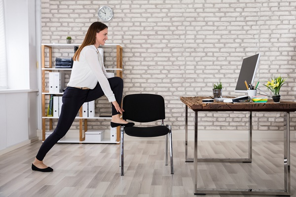 Five ways to stay healthy while working at a desk