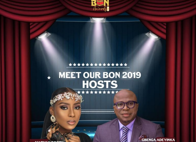 Maryam Booth to join Gbenga Adeyinka as 2019 BON host