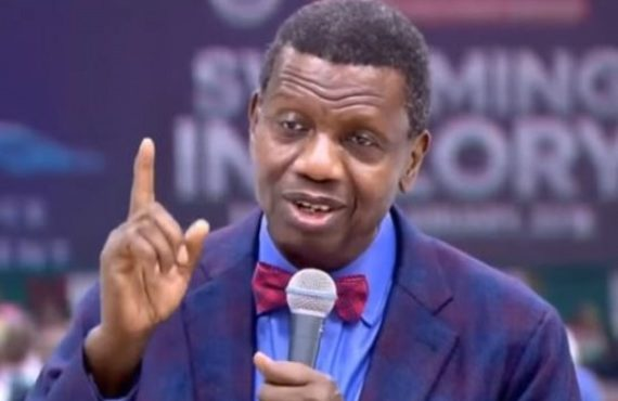 Adeboye: My sons, don't marry a lady who can't cook,…