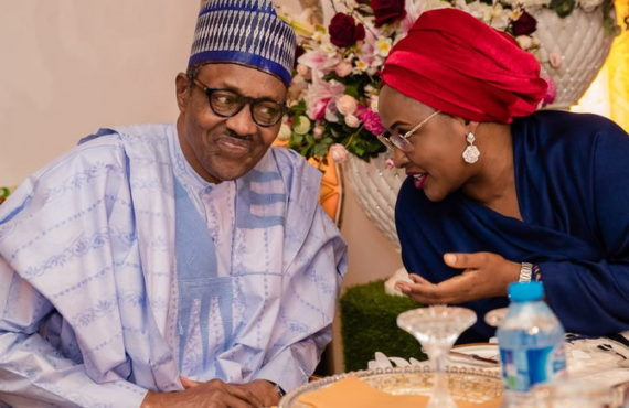Aisha Buhari celebrates husband as he clocks 77