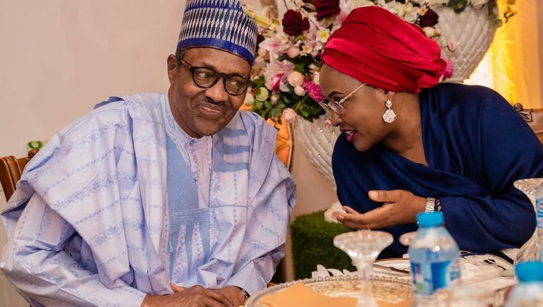 Aisha Buhari celebrates husband as he clocks 77